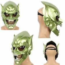 aliexpress com buy spider man green goblin mask full face