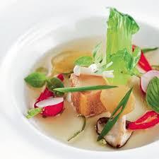 recette de cuisine thailandaise recette bouillon de canard et foie gras combava au basilic thaï