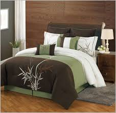 California King Comforter Sets On Sale Bedroom Rustic Design With Cheap Cal King Brown Green White