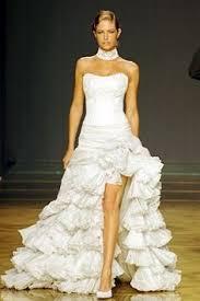 robe mariã e courte robe de mariée courte devant et longue derrière bustier ivoire