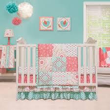 Crib Bedding Sets Unisex Mosaic 3 Crib Bedding Set By Peanut Shell Hayneedle