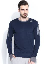 Sweater With Thumb Holes Buy Adidas Navy Sn L S M T Shirt With Thumb Holes Tshirts For