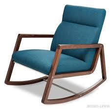 Turquoise Chairs Leather American Leather Nolan Rocker Chair Nolan Jensen Lewis New York