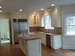 Cream Painted Kitchen Cabinets Simple Kitchen Cabinets Cream Antiqued Traditionalkitchen In