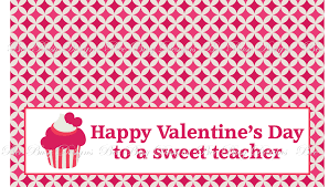 printable cupcake valentines day bag topper for teacher fits