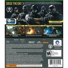 siege microsoft usa tom clancy s rainbow six siege day 1 edition ubisoft xbox one