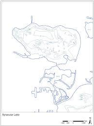 Syracuse Map Syracuse Lake Lilly Center For Lakes U0026 Streams