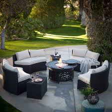 Concrete Curved Bench - backyard patio ideas furniture excellent bj picture on wonderful