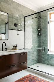 green bathroom tile ideas bathroom modern green tile bathroom ideas 13 beautiful green tile