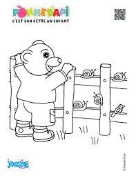 Coloriages petit ours brun à imprimer  frhellokidscom