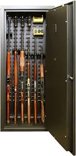 best place to buy gun cabinets secure it gun safe agile model 52 gun cabinet holds 6 rifles and includes cradlegrid tech a heavy duty safe with keypad stores rifles