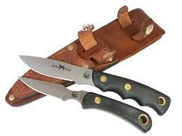 knives of alaska alpha wolf cub combination fixed blade