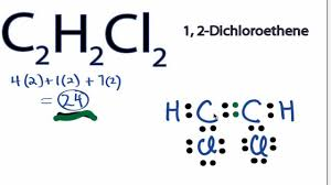 c2h2cl2 lewis structure how to draw the lewis structure for