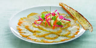 cuisiner haddock carpaccio de haddock recettes femme actuelle