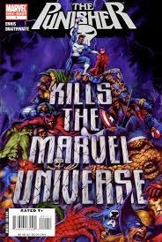 Marvel Universe Map Scans Daily The Punisher Kills The Marvel Universe