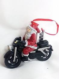 santa on motorcycle tabletop decor you can find out