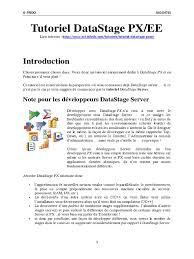 40364699 tutoriel datastage px