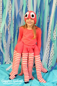 Squid Halloween Costume Diy Octopus Costume