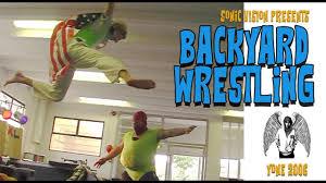 backyard wrestling yone 2006 youtube