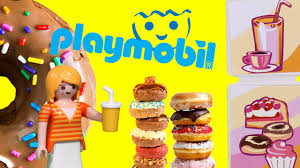 playmobile cuisine shop playmobil city 5631 food shop bakery carrying