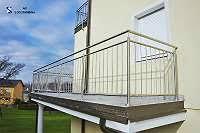 balkon edelstahlgel nder edelstahlgeländer willhaben