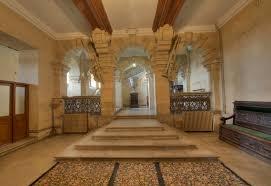 entrance hall harlaxton manor archives
