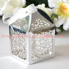 wedding favor boxes wholesale hot sale vine silver wedding favor boxes indian wedding