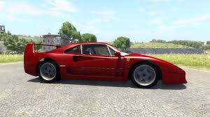 minecraft ferrari f40 for beamng drive