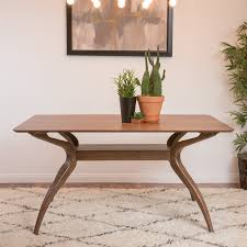 Home Decor Material by Shop Best Selling Home Decor Salli Natural Walnut Dining Table At