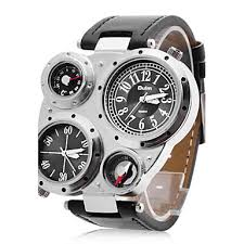 Vou Ao Chile 25 176 Dia Aduanas Chile E Peru - oulm men s watch military multifunction dual time zones compass and
