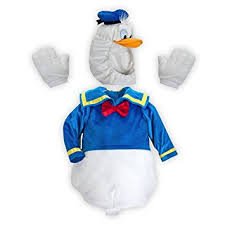 Halloween Costumes 18 24 Months Amazon Disney Store Donald Duck Plush Halloween Costume Size
