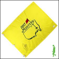 Masters Flag Golf Memorabilia Collectible Golf Balls Icon Sports