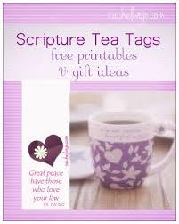 scripture gifts free scripture tea tags tea tag scriptures and teas