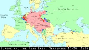 Europe Map In 1914 by Wwi Centennial The Birth Of Trench Warfare Mental Floss