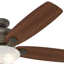 Ceiling Fan Manufacturers Usa Hunter Fan 60 In New Bronze Ceiling Fan With Swirled Marble Light