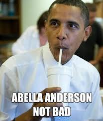 Not Bad Obama Meme - abella anderson not bad obama cool story bro quickmeme