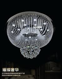 Crystal Chandelier Ball Decoration Ideas Luxury Bedroom With Round Silver Metal And