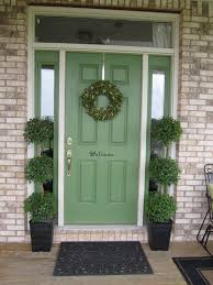 the best paint colors for a front door makeover front doors