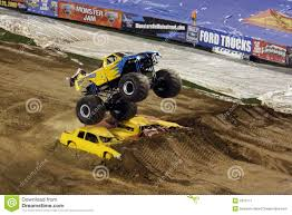 monster truck jam san diego monster truck jumps over cars editorial photo image 7812711