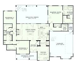 front to back split house house plans with garage in back cbat info
