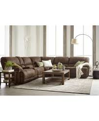 jedd 6 pc fabric sectional sofa with 3 power recliners created