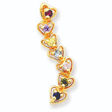 mothers pendant of hearts s pendant
