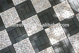 300x900mm wpc interlock decking tile and waterproof balcony