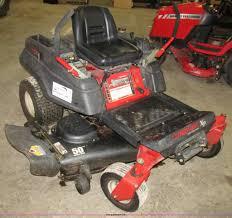 troy bilt ztrxp50 mustang ztr riding lawn mower item g9971