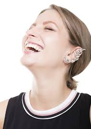 ear cuff images asymmetrical ear cuff happiness boutique
