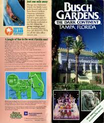 Map Of Tampa Florida Area by Busch Gardens Tampa Map