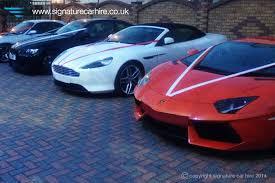 rent a lamborghini aventador uk signature wedding car hire
