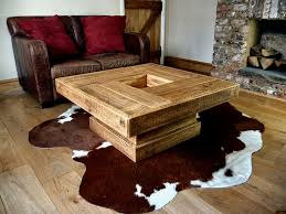 square coffee tables reclaimed wood table rustic style with on ideas