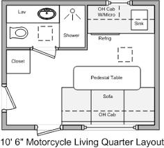 bumper pull living quarters trailers milltrailers