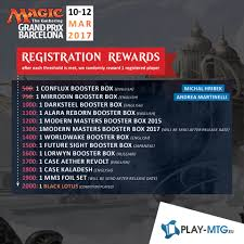Invitational Cards Mtg Grand Prix Barcelona Tournamentcenter Prepare Your Next Card